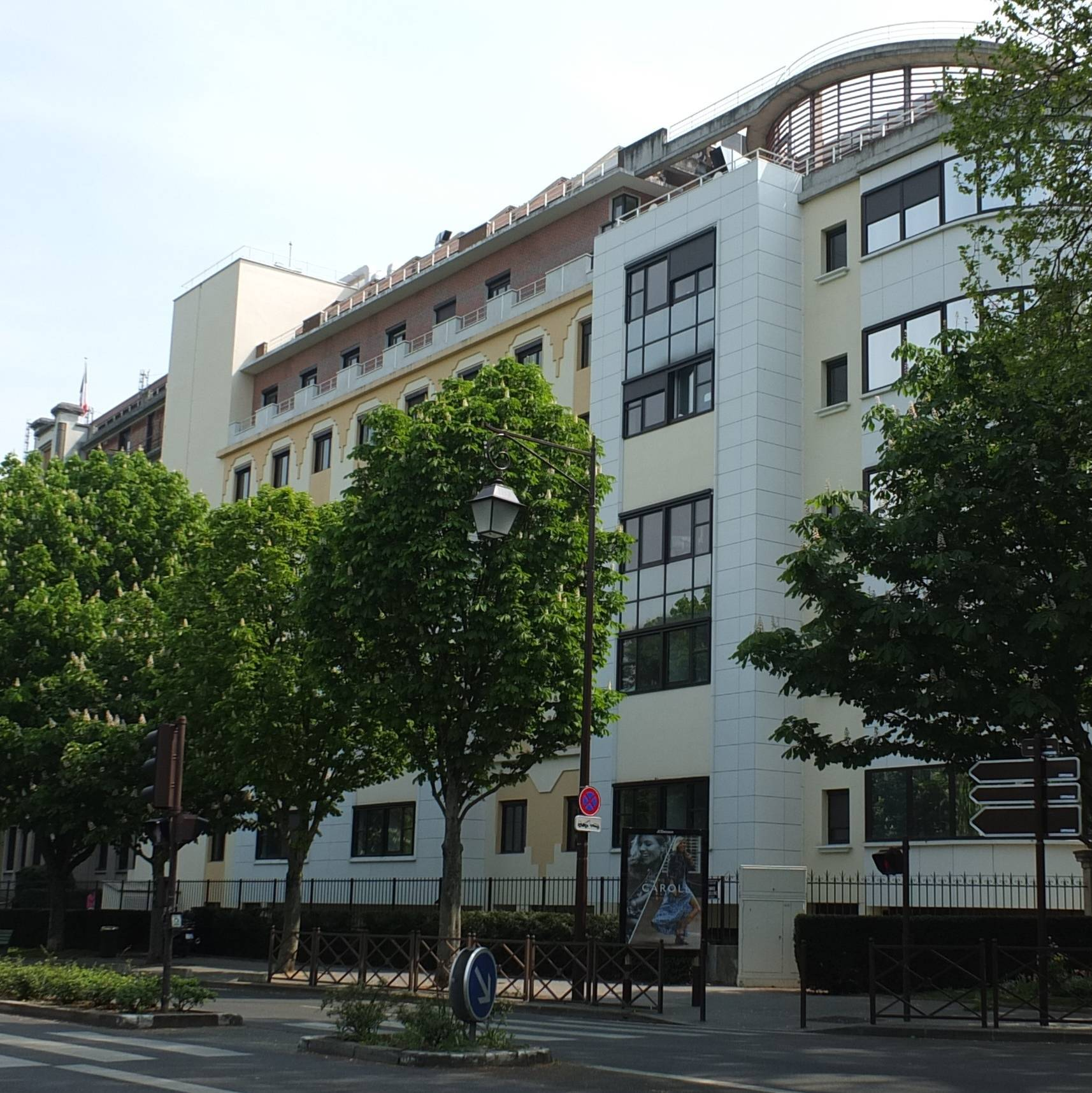 photo de site hospitalier de neuilly
