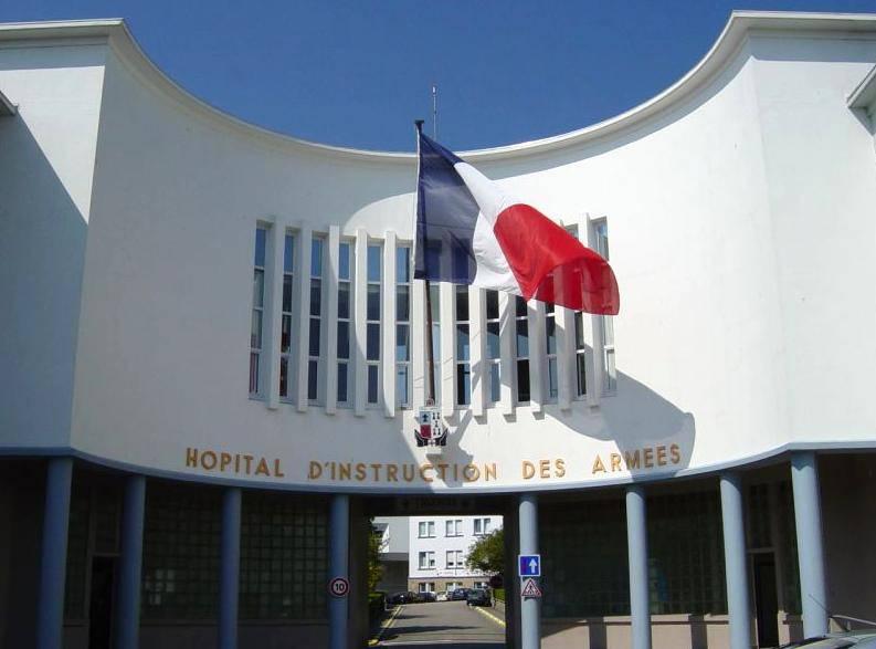 Hôpital d'Instruction des Armées  CLERMONT-TONNERRE  (BREST)