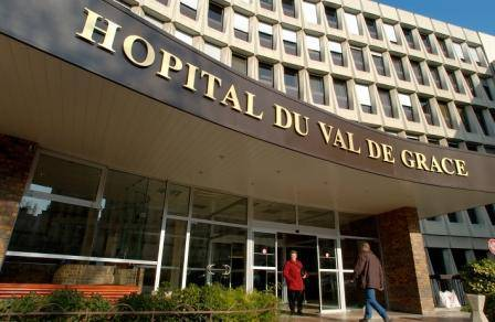 Hôpital d'Instruction des Armées du VAL DE GRACE  (PARIS)