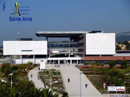 Hopital d'Instruction des Armées SAINTE ANNE  (TOULON)