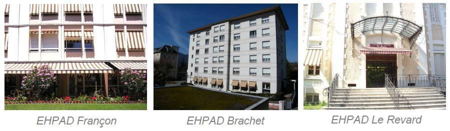 EHPAD Brachet - EHPAD Françon - EHPAD Le Revard