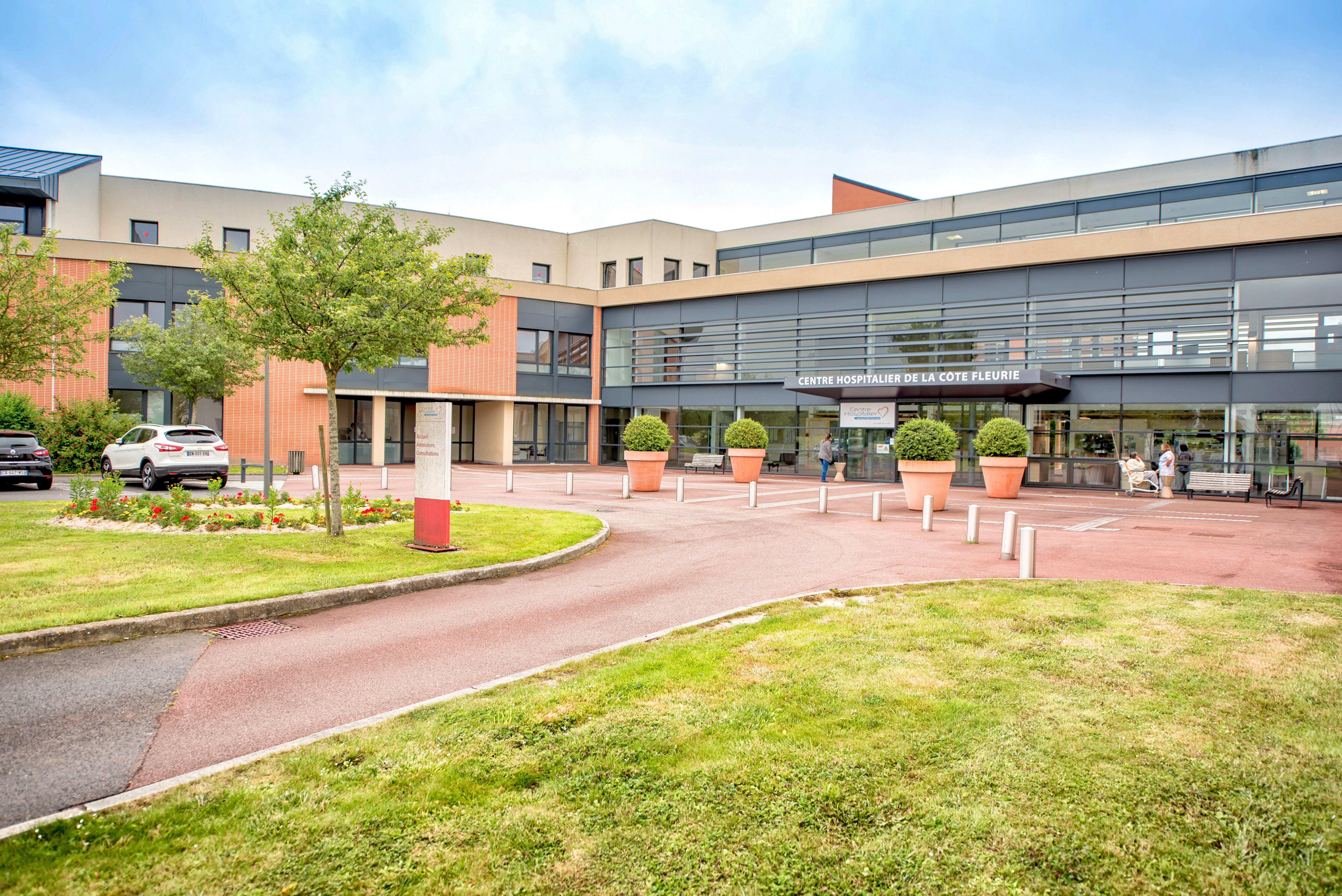 Centre hospitalier intercommunal de la Côte Fleurie (Honfleur)